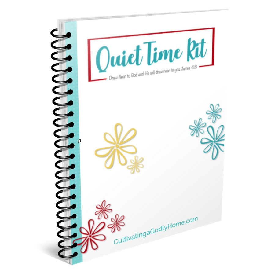 The Quiet Time Kit for Girls {25+ pages}