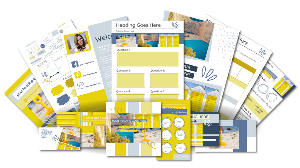 Ultimate Branding and Social Media Toolkit - Summer Sunshine