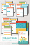 The Food Allergy Binder {50+ pages}