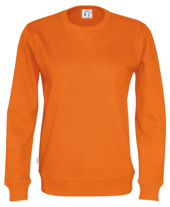 141003 - Cottover - Sweatshirt i unisex modell - Orange (290)