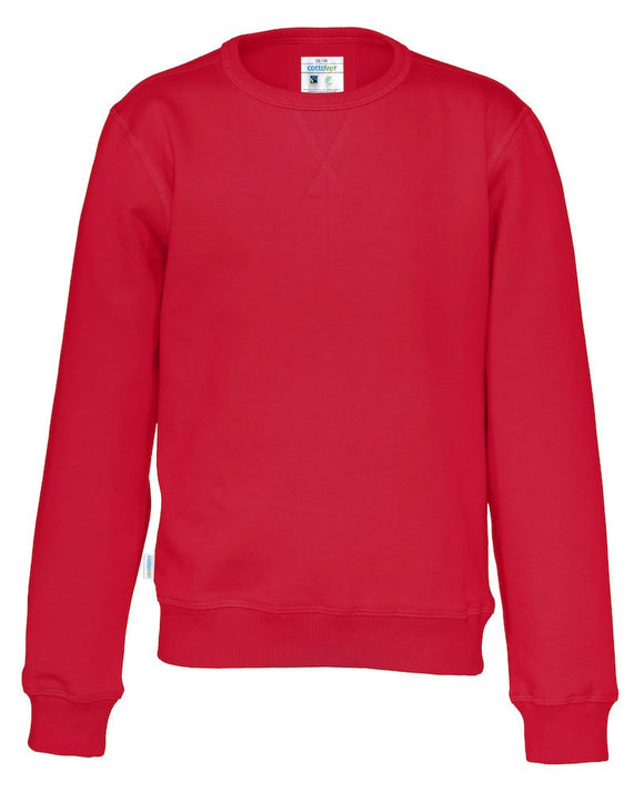 141015 - Cottover - Sweatshirt til junior - Rød (460)