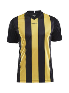 1905562 - Progress Jersey Stripe M - Black/Yellow (9552)