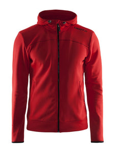 1901692 - Leisure full zip hood Man - Red (2430)