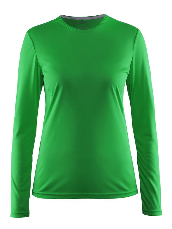 1903941 - Craft - Mind LS Tee W - Craft Green (1606)
