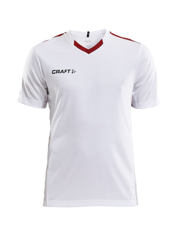 1905561 - Progress Jersey Contrast M - White/Bright Red (4900)