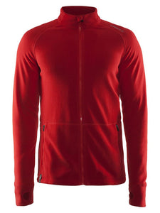 1904593 - Micro fleece full zip Man - Bright red (1430)