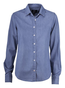 352405 - Ellensburg Denim Shirt Ladies - Denim Blue (581)