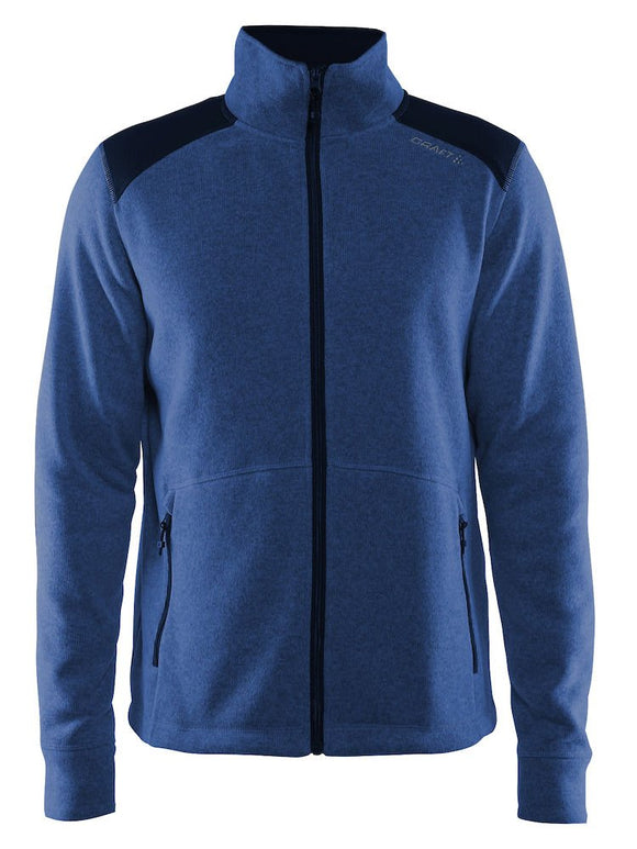 1904587 - Noble zip jacket heavy knit fleece - Deep (2381)