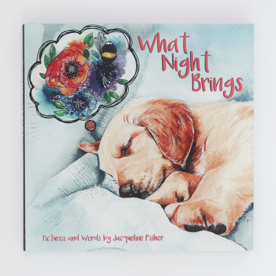 What Night Brings, A Children's Book for Dreamers.