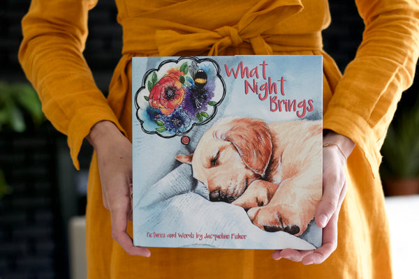 PREORDER: What Night Brings, A Children's Book for Dreamers.