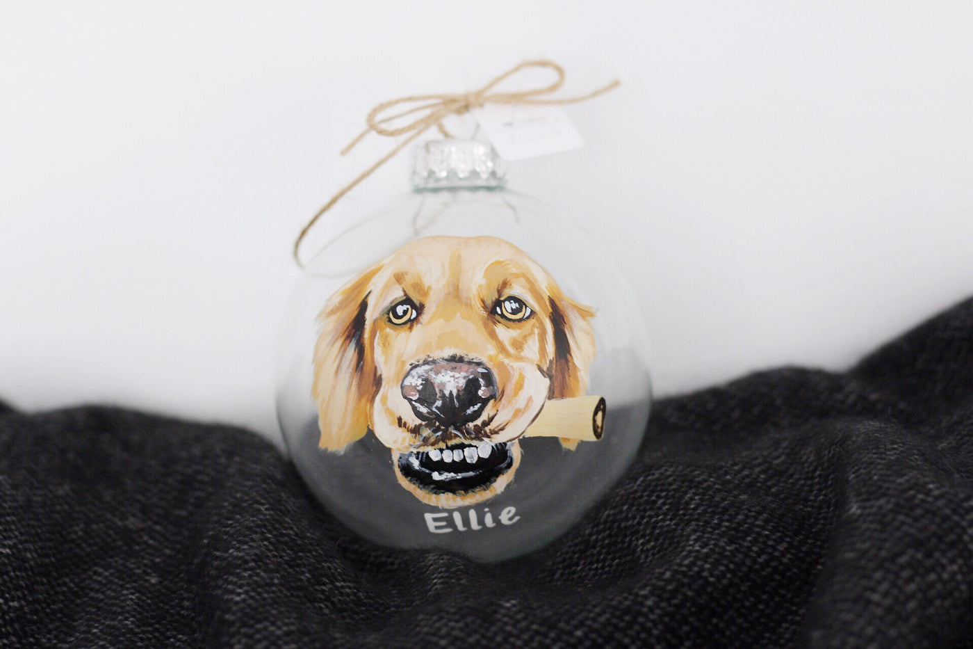 Custom Ornament (One Pet)