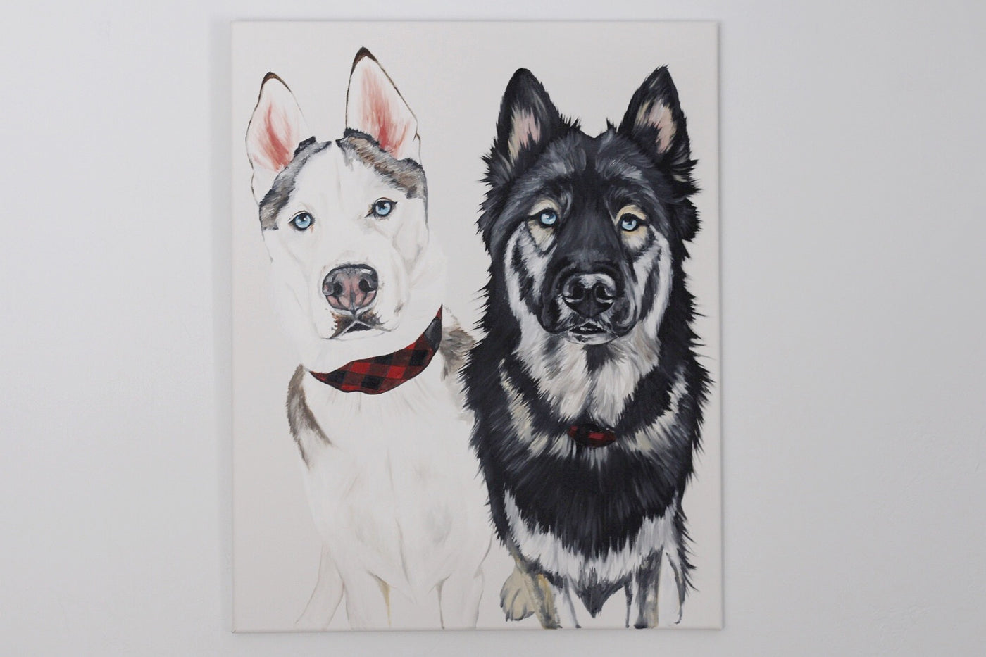 Custom Double Pet Portrait