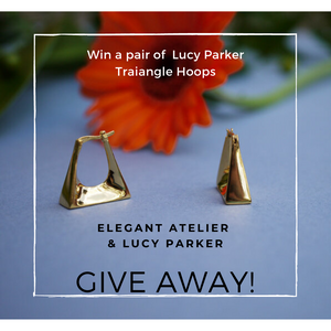 Win a Pair of Gold or Silver Earring by Lucy Parker Jewellery