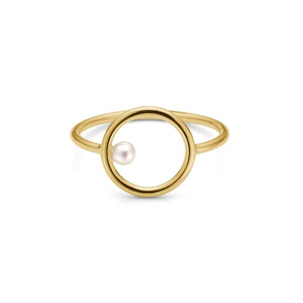 Issa Pearl Gold Ring