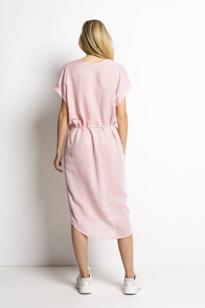 Weda Dress Misty Rose