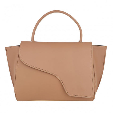Arezzo Almond Medium Handbag