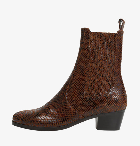 Gazette Python Boots in Marron
