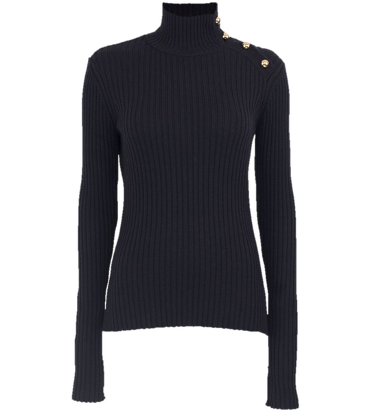 Cirea Turtleneck Sweater Navy