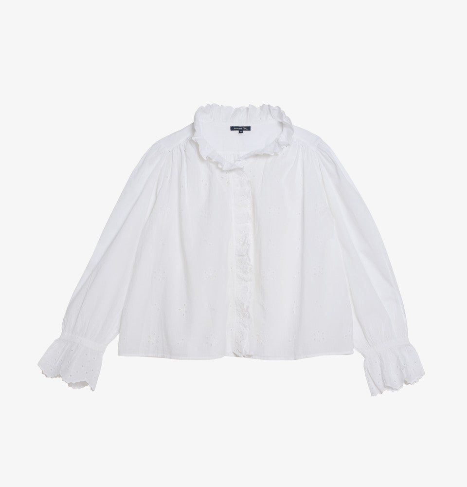 Daisy Shirt White