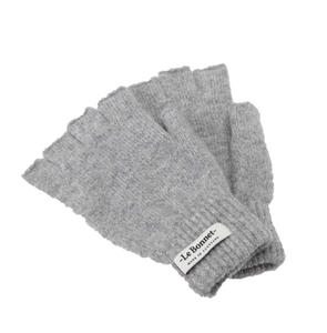 Smoke Grey Wool Gloves