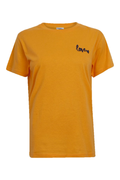 Jolee Cotton Tee Shirt Apricot