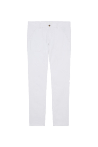 Csally Jeans White