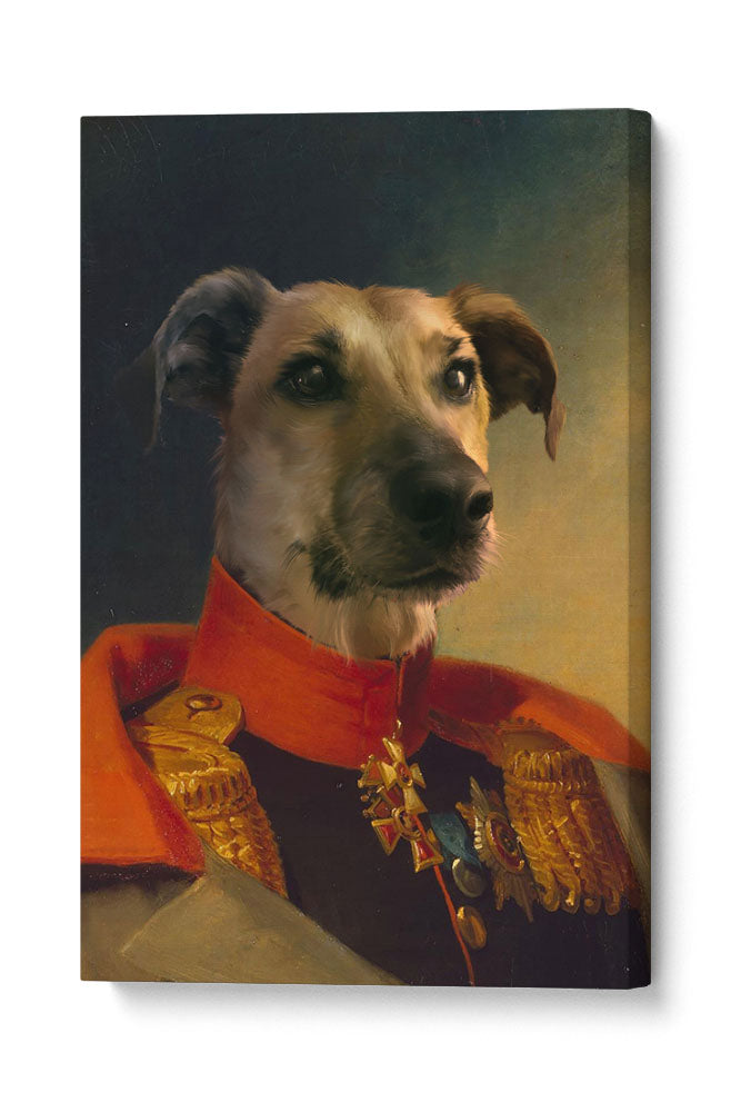 The Commander - Your Pet Here: Custom Pet Painting