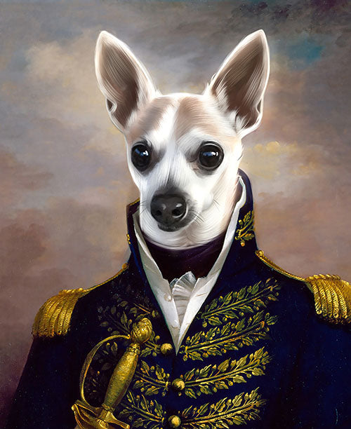 The Prince - Your Pet Here: Custom Pet Painting