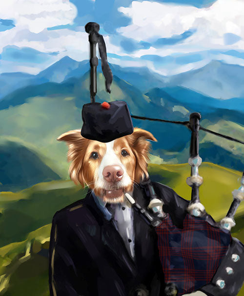The Irishman - Your Pet Here: Custom Pet Painting