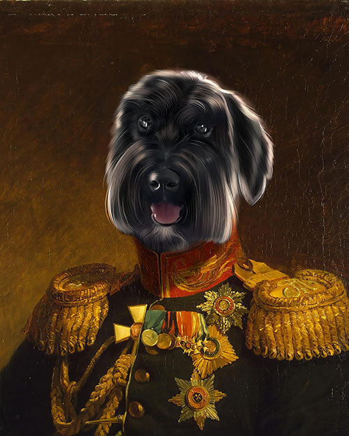 The General - Your Pet Here: Custom Pet Painting