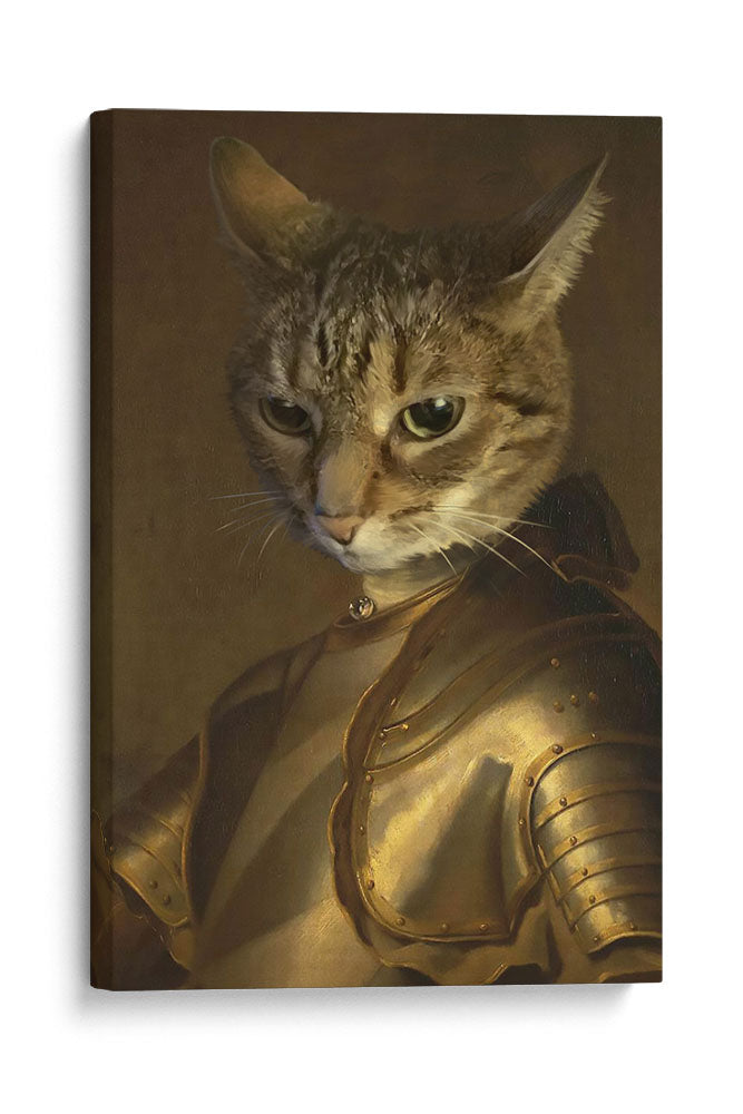 The Knight - Your Pet Here: Custom Pet Painting