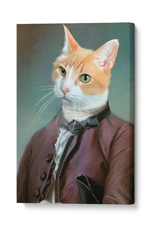 The Ambassador - Your Pet Here: Custom Pet Painting