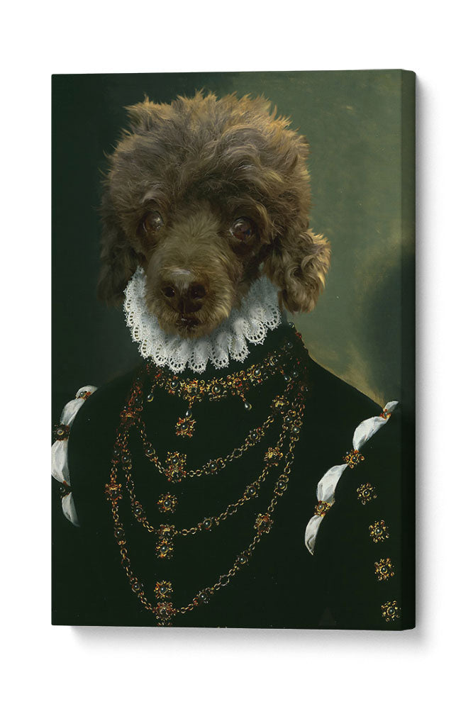 The Dame - Your Pet Here: Custom Pet Painting