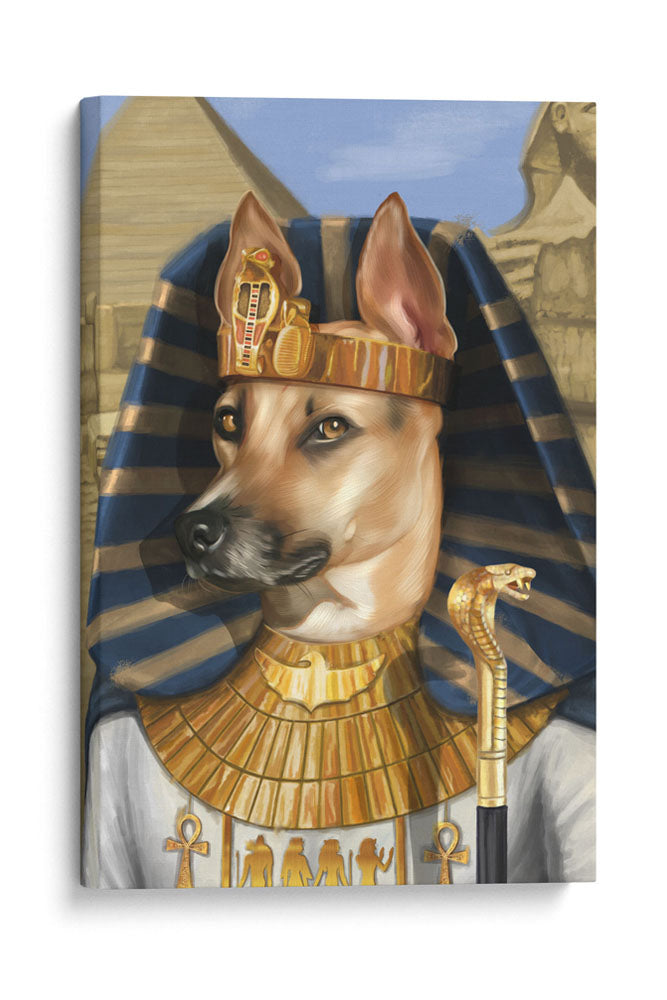 The Egyptian -  Your Pet Here: Custom Pet Painting