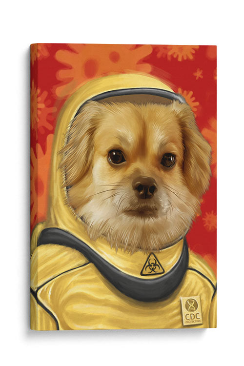 Pandemic Edition Hazmat Pet - Your Pet Here: Custom Pet Painting