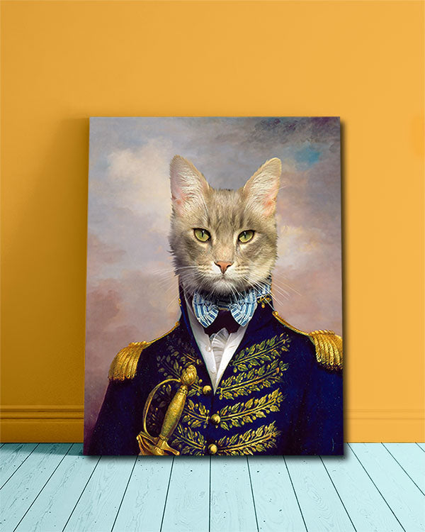 Turn Your Dashing Cat Photo into a renaissance masterpiece!