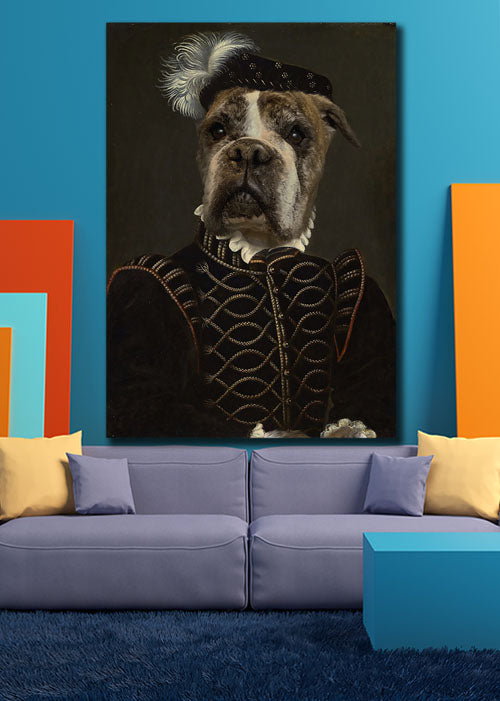 The Noble - Your Pet Here: Custom Pet Painting