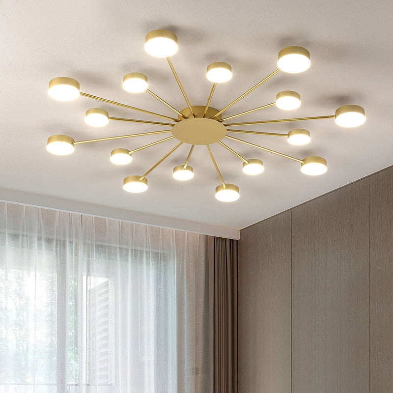 New led Chandelier For Living Room Bedroom Home chandelier by sala Modern Led Ceiling Chandelier Lamp Lighting chandelier - piperandfox