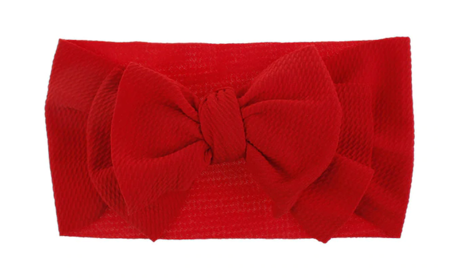 Giant Red Bow