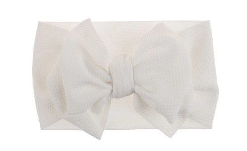 Giant White Bow