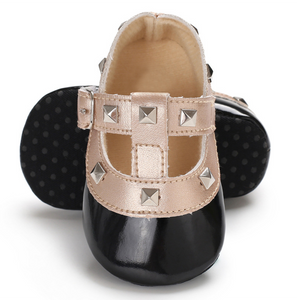Black Baby RockStub Valentino Shoes Valen-Tiny