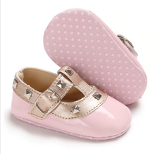 Load image into Gallery viewer, Pink Baby RockStub Valentino Shoes Valen-Tiny