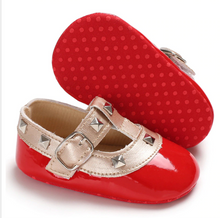 Load image into Gallery viewer, Red Baby RockStub Valentino Shoes Valen-Tiny