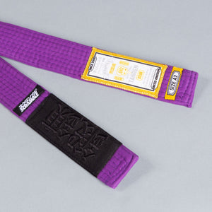 SCRAMBLE TANREN V4 BJJ BELT – PURPLE