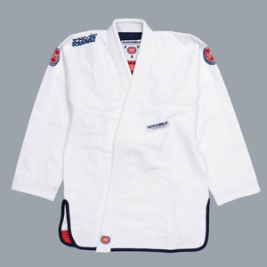 SCRAMBLE ATHLETE GI – WHITE
