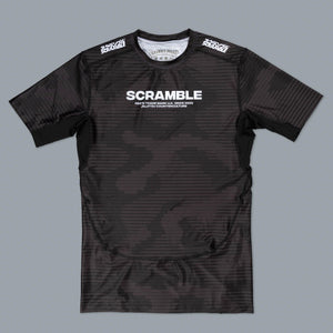SCRAMBLE TACTIC RASHGUARD – BLACK