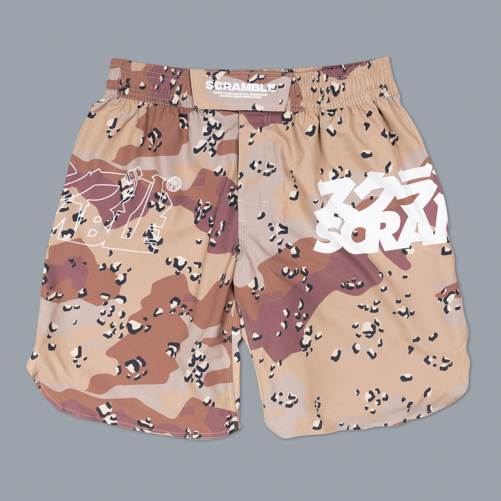 SCRAMBLE BASE SHORTS – CHOC CHIP