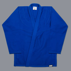SCRAMBLE STANDARD ISSUE – SEMI CUSTOM BJJ GI – BLUE