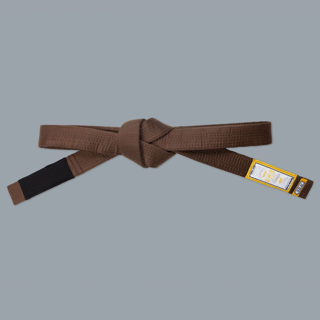 SCRAMBLE TANREN V4 BJJ BELT – BROWN