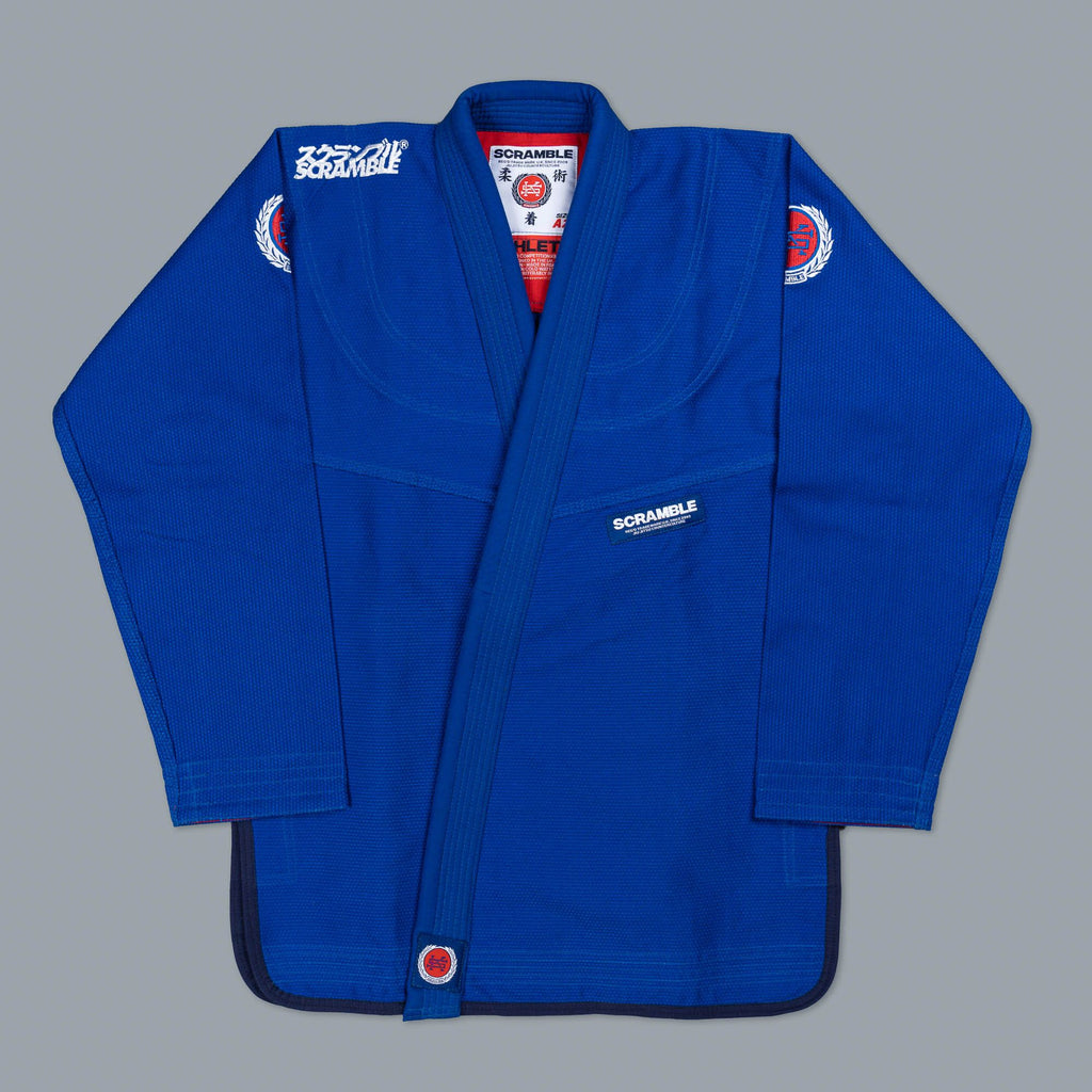 SCRAMBLE ATHLETE GI – BLUE